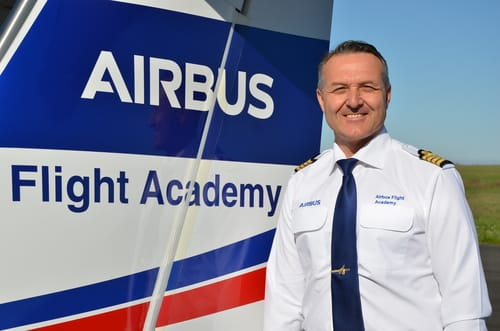 Frédéric Wrobel - Chief of Operations Airbus Flight Academy Europe
